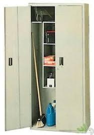 armadio lamiera armadio lamiera portascope 2 ante 175x60x40 armadietto porta scope