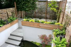 pictures of small garden walls the garden inspirations