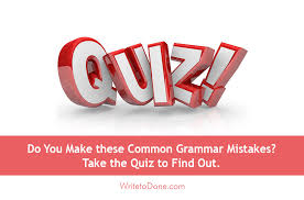Hit The Floor Quizzes - are you making these common grammar mistakes take the quiz