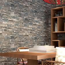 aliexpress com buy great wall 3d pvc modern brick wallpaper for