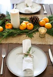 rustic dinner table settings christmas table setting ideas our top picks christmas celebration