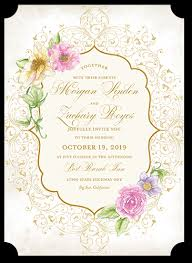 wedding invitations shutterfly enchantment 5x7 wedding invitations shutterfly