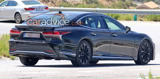 lexus sedan with v8 2018 lexus ls u0027f u0027 spied blog about cars and motorcycles