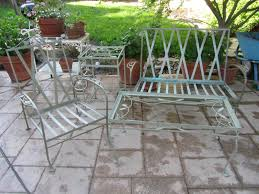 Vintage Woodard Patio Furniture by Furniture Sunbrust Spring Garden Chairs Vintage Woodard Patio