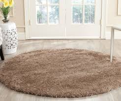 Safavieh Leather Shag Rug Lush Beige Shag Rug Milan Collection Safavieh