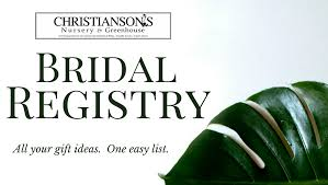 bridal registry skagit wedding venue christianson s nursery