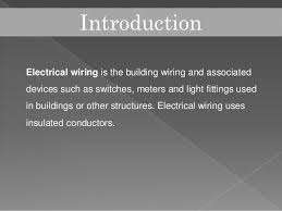electrical wiring types of wires and cables and the circuit control o u2026