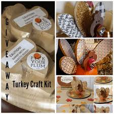 turkey craft kits a giveaway the csi project