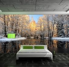papier peint trompe l oeil pour chambre quels stickers trompe l oeil choisir idées en 50 photos