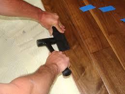 Hardwood Floor On Concrete Installing Hardwood Flooring Concrete How Tos Diy