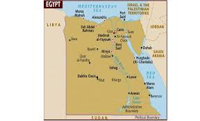 Map Of Egypt In Africa by Egypt 2011
