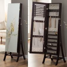 standing mirror jewelry cabinet belham living swivel cheval jewelry armoire white armoire wood