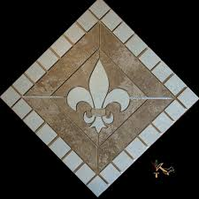 best fleur de lis backsplash tiles gallery home decorating ideas 18 fleur de lis ceramic backsplash mural tile floor medallion