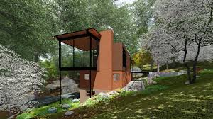 usonian house renovation old to new 3d green planet architects