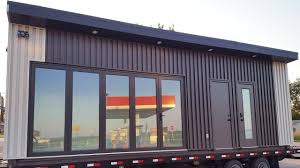 awesome modern large shipping container tiny home with full size