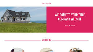 Dedicated Hosting Us Title Title Company Website Templates Godaddy