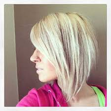 shorter back longer front bob hairstyle pictures angled bobs with bangs short hairstyles 2016 2017 most