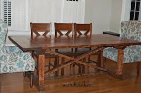 dining room chair built in dining room table diy dining table