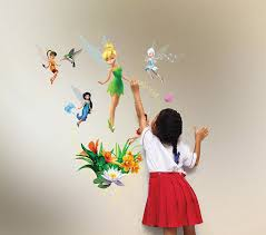amazon com uncle milton tinkerbell wild walls light and sound