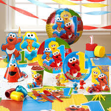 baby elmo 1st birthday party supplies home party ideas