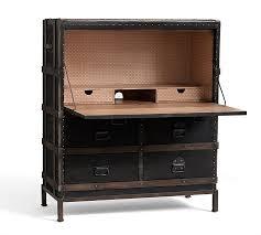 ludlow trunk secretary desk pottery barn