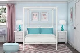 White Bed Canopy Bedroom Canopy Bed Frame Canopy Bed Frame Full Curtain Over Bed