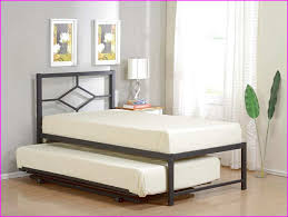 twin trundle bed frame pop up comfortable twin trundle bed frame