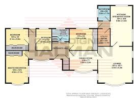 4 Bedroom Bungalow Floor Plans 4 Bedroom Bungalow For Sale In York Road Grappenhall Wa4