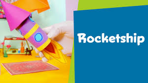 how to make a paper rocketship superhands easy crafts diy