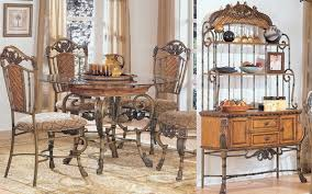 wrought iron dining table set dining room furniture table tables throughout wrought iron dining