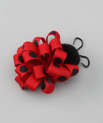 ladybug ribbon 3221 best bows and hair things images on crowns