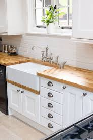 kitchen cabinets all wooden solid brown corner kitchen
