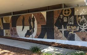 saunders library mural relocated youtube saunders library mural relocated