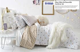 Gold Polka Dot Bedding Bed Bath U0026 Beyond Back To College Bedding U2014 Emilee Keohan