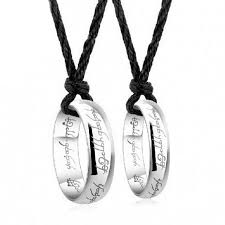 sterling silver ring necklace images Selling pendant couple ring 925 sterling silver rings single ring jpg