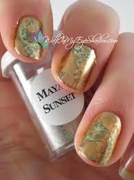 mayan sunset nail art foils pinterest nail foil