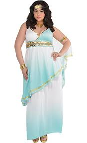 Egyptian Goddess Halloween Costumes Grecian Goddess Costume Size Party Spooky