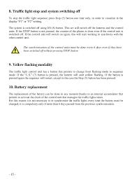 Traffic Light Order Directions For Mobile Traffic Light Road Signalization Sisas Bg