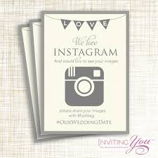 wedding instagram http www etsy listing 153220374 wedding instagram sign