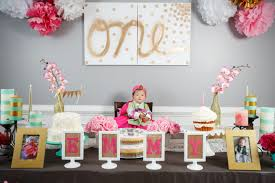 baby girl 1st birthday themes emmy s dohl korean 1st birthday party your abode