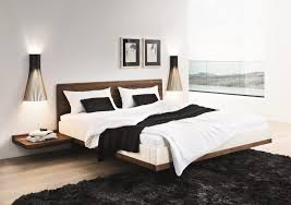 Bed And Nightstand Floating Beds Elevate Your Bedroom Design To The Next Level