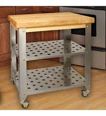kitchen islands and carts stainless steel kitchen island cart kitchen and decor