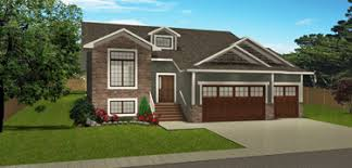 bi level house plans with attached garage bi level house plans split level home plans edesignsplans ca