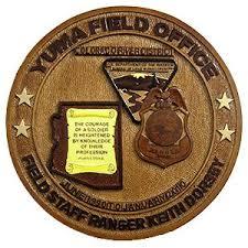 retirement plaque yuma field office field staff ranger retirement plaque