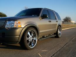 Classic Ford Truck Lowering Kits - eibach prokit on 3rd gen explorer 2004 ford explorer and ford
