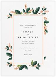 bridal invitation bridal shower invitations online at paperless post