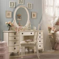 bedroom sets vanity table with lighted mirror and bench mirrored