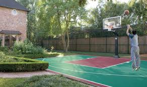 Backyard Basketball Online by Basketball Court Building Guide Part Two