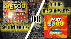 Lottery Instant Wins - scratchcards or online instant wins series 1 episode 7 of 10