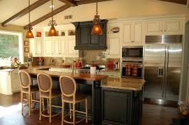 kitchen islands with bar stools kitchen island with seating and stove tile flooring kitchen sink